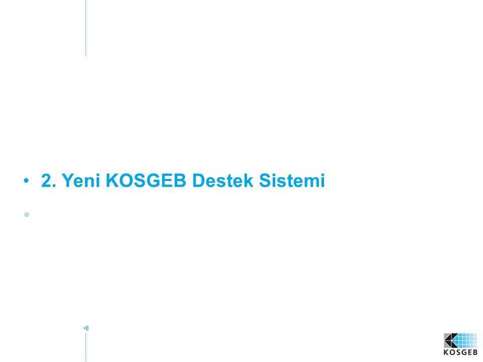 2. Yeni KOSGEB Destek Sistemi