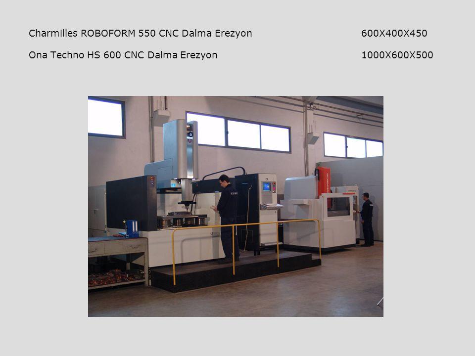 Charmilles ROBOFORM 550 CNC Dalma Erezyon