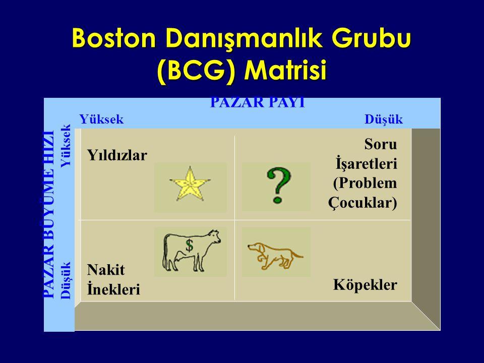 Boston Danışmanlık Grubu (BCG) Matrisi