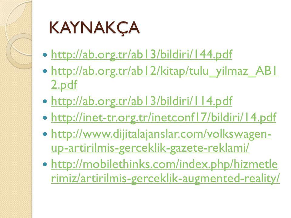KAYNAKÇA http://ab.org.tr/ab13/bildiri/144.pdf