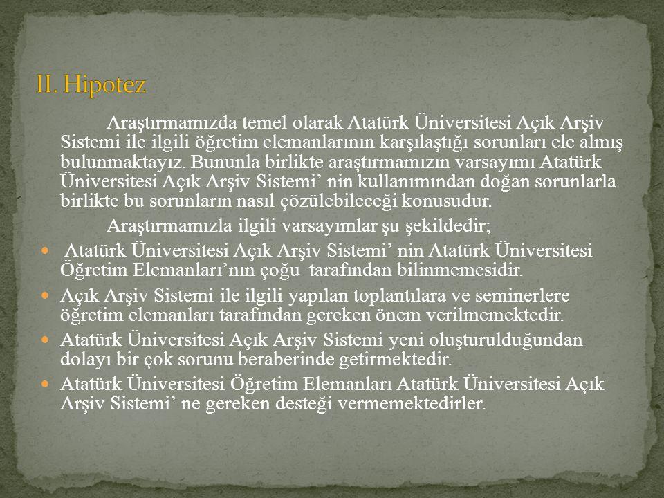 II. Hipotez