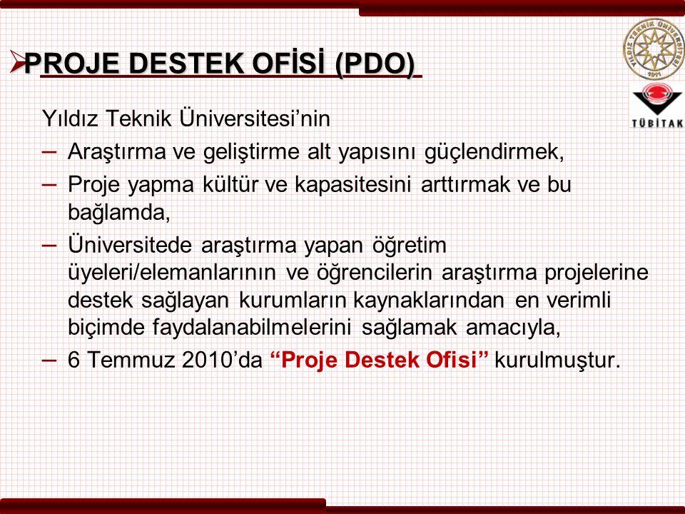 PROJE DESTEK OFİSİ (PDO)