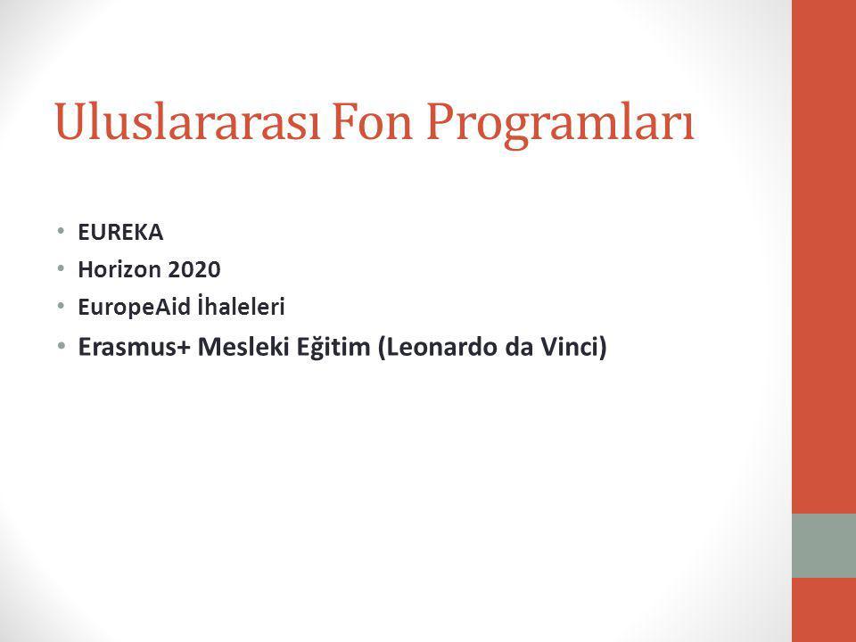 Uluslararası Fon Programları