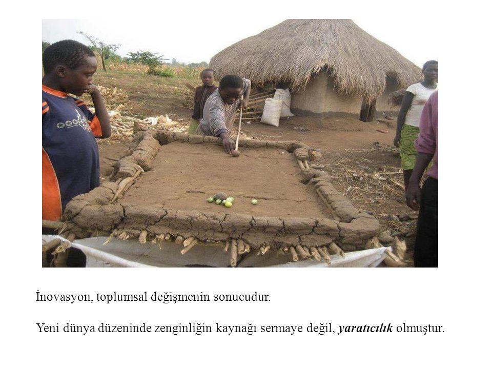 İnovasyon, toplumsal değişmenin sonucudur.
