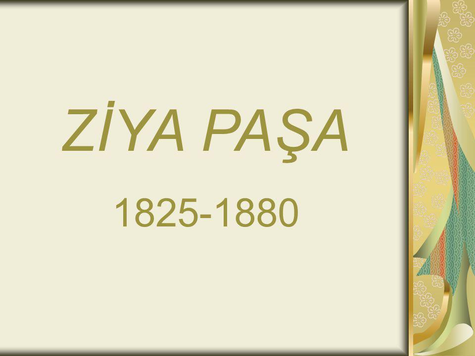ZİYA PAŞA 1825-1880