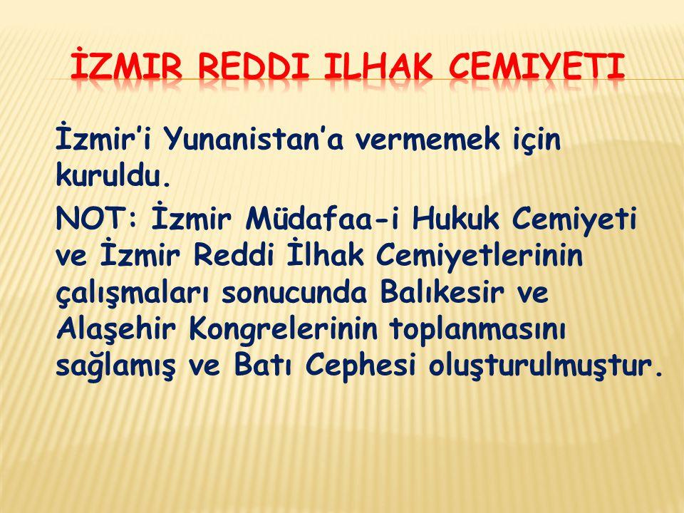 İzmir reddi ilhak cemiyeti