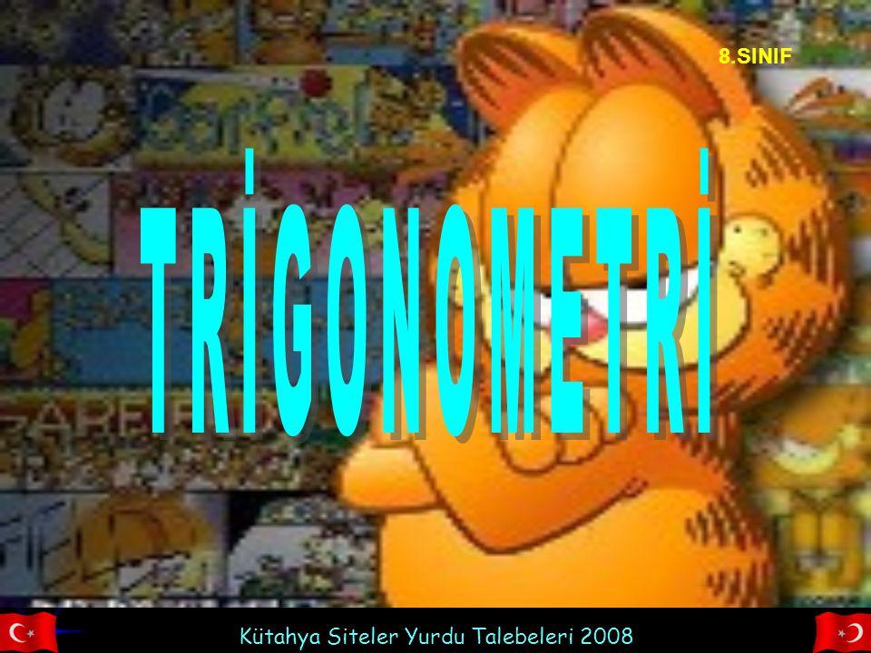 8.SINIF TRİGONOMETRİ