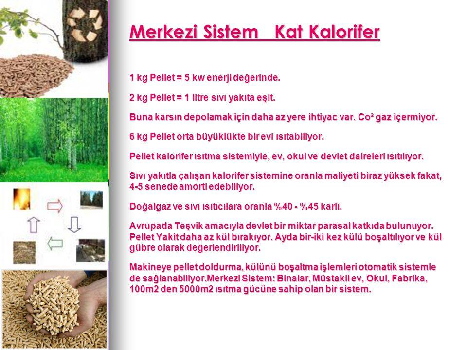 Merkezi Sistem Kat Kalorifer