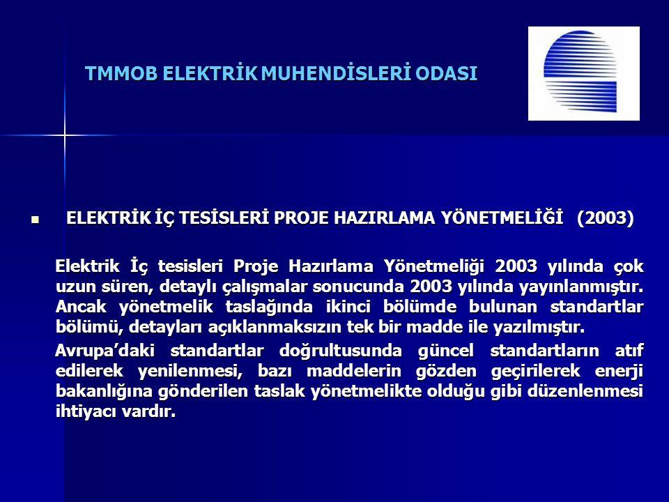 TMMOB ELEKTRİK MUHENDİSLERİ ODASI