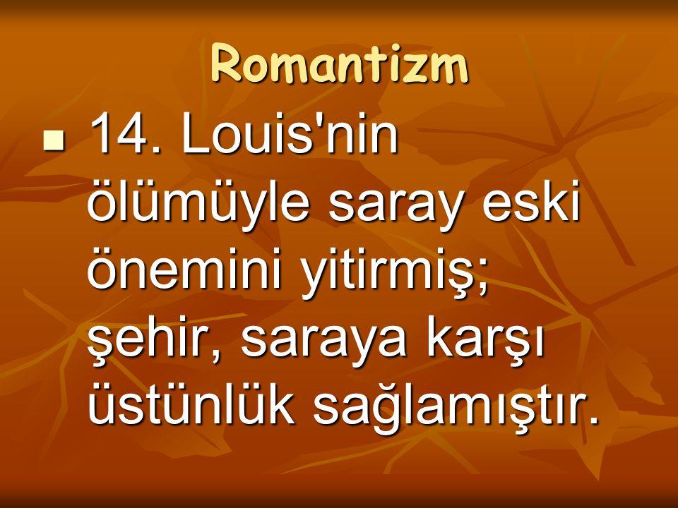 Romantizm 14.