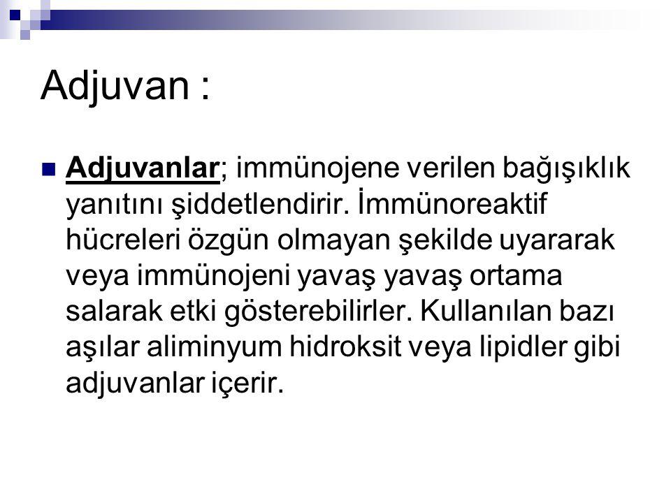 Adjuvan :
