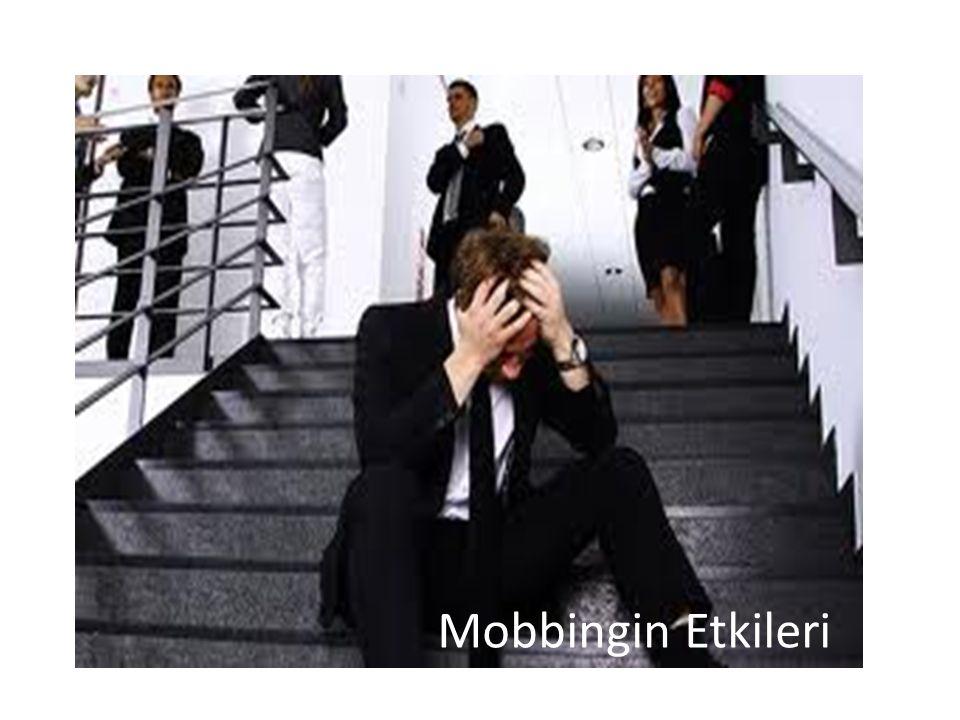 Mobbingin Etkileri