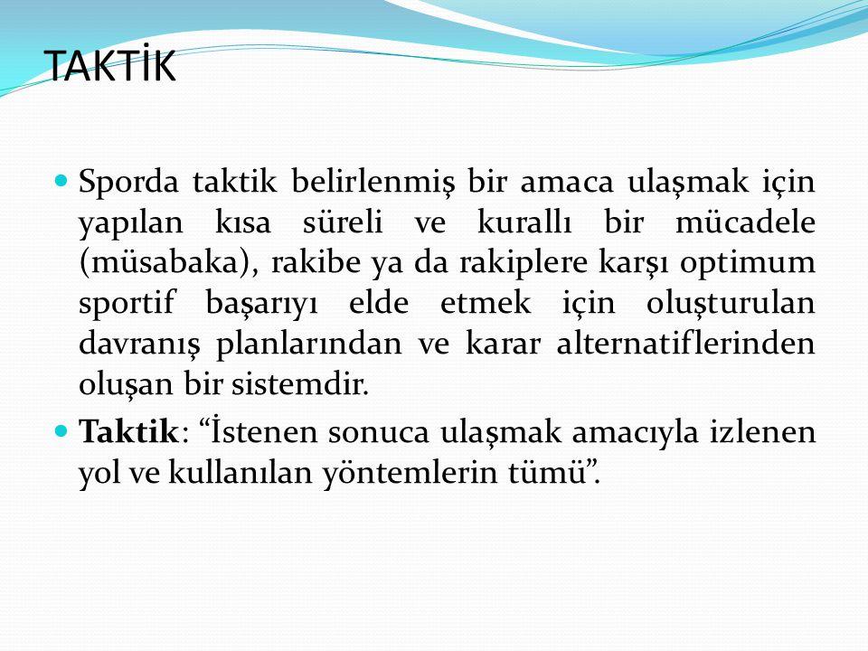 TAKTİK