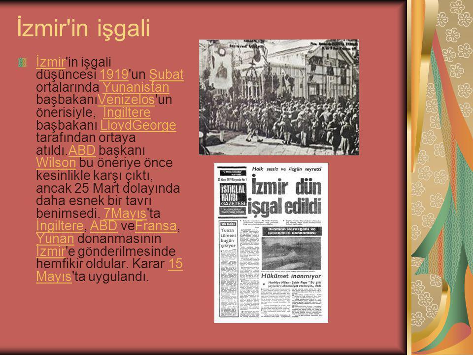 İzmir in işgali