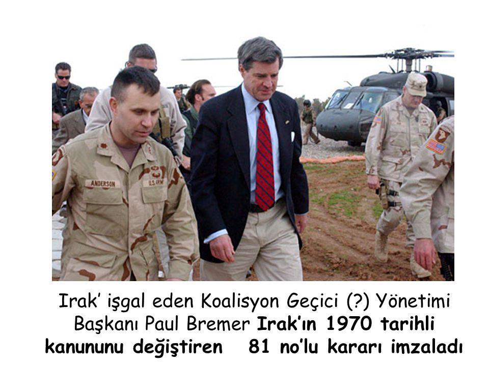 Irak' işgal eden Koalisyon Geçici (