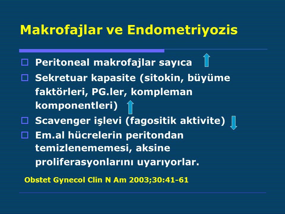 Makrofajlar ve Endometriyozis