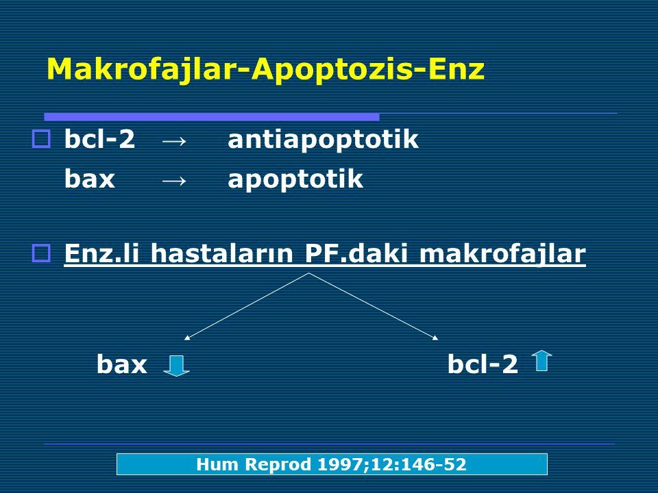 Makrofajlar-Apoptozis-Enz