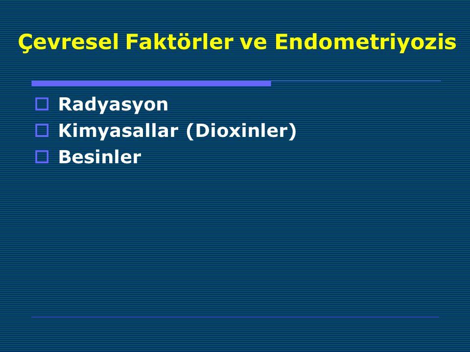 Çevresel Faktörler ve Endometriyozis
