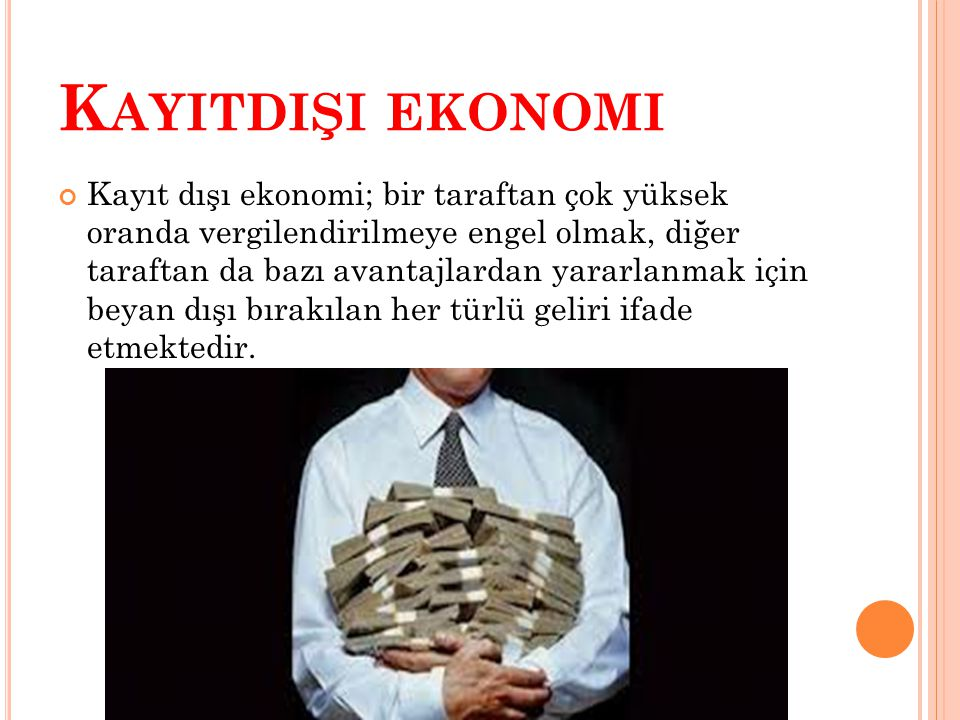Kayitdişi ekonomi