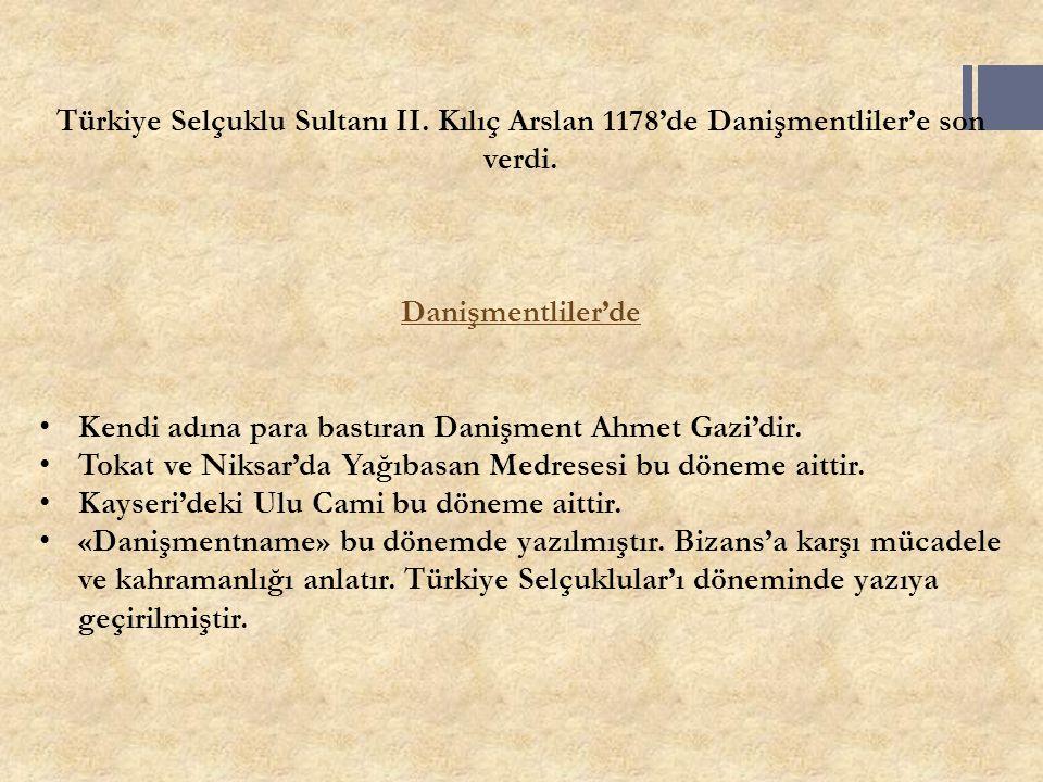 Türkiye Selçuklu Sultanı II
