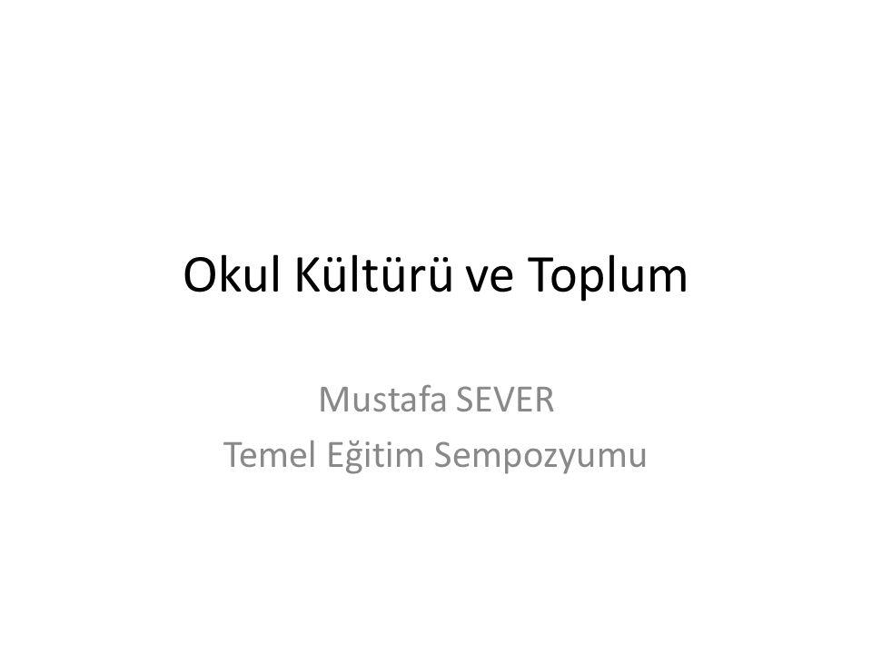 Mustafa SEVER Temel Eğitim Sempozyumu