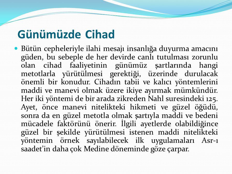 Günümüzde Cihad