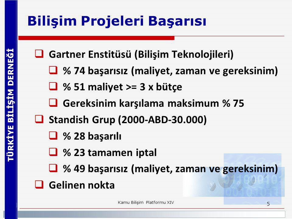 Bilişim Projeleri Başarısı