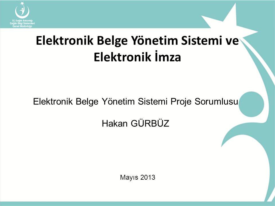 Elektronik Belge Yönetim Sistemi ve