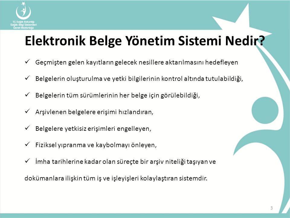 Elektronik Belge Yönetim Sistemi Nedir