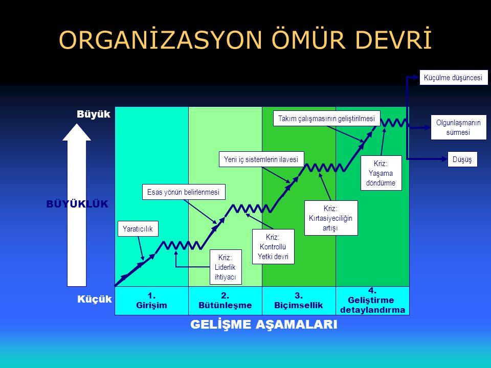 ORGANİZASYON ÖMÜR DEVRİ