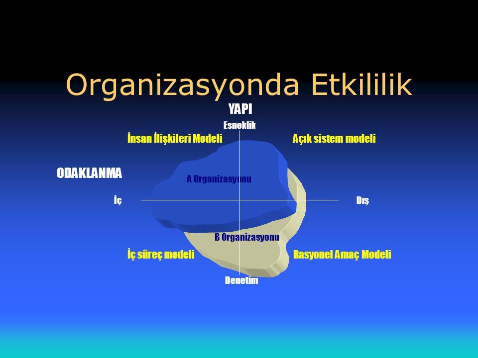 Organizasyonda Etkililik