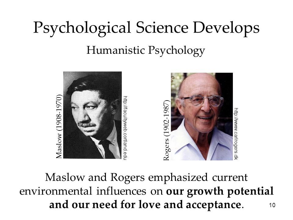 Psychological Science Develops