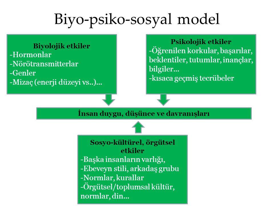 Biyo-psiko-sosyal model
