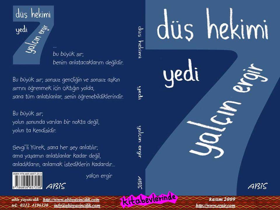 kasım 2009 abis yayıncılık http://www.abisyayincilik.com