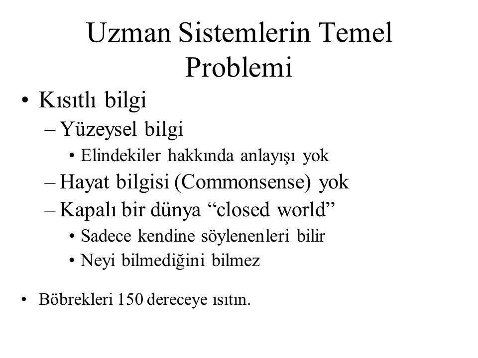 Uzman Sistemlerin Temel Problemi