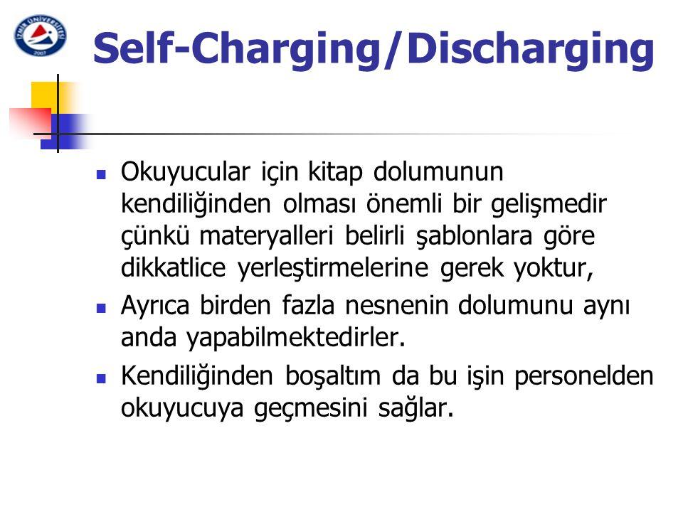 Self-Charging/Discharging