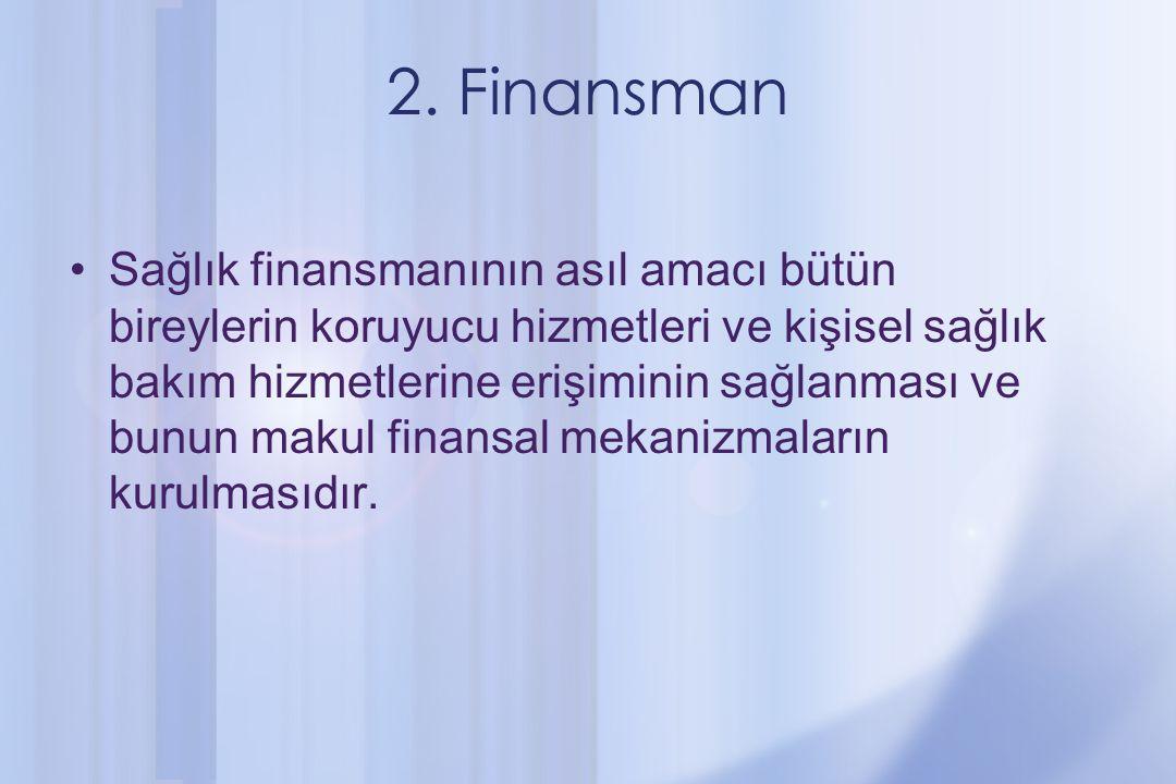 2. Finansman