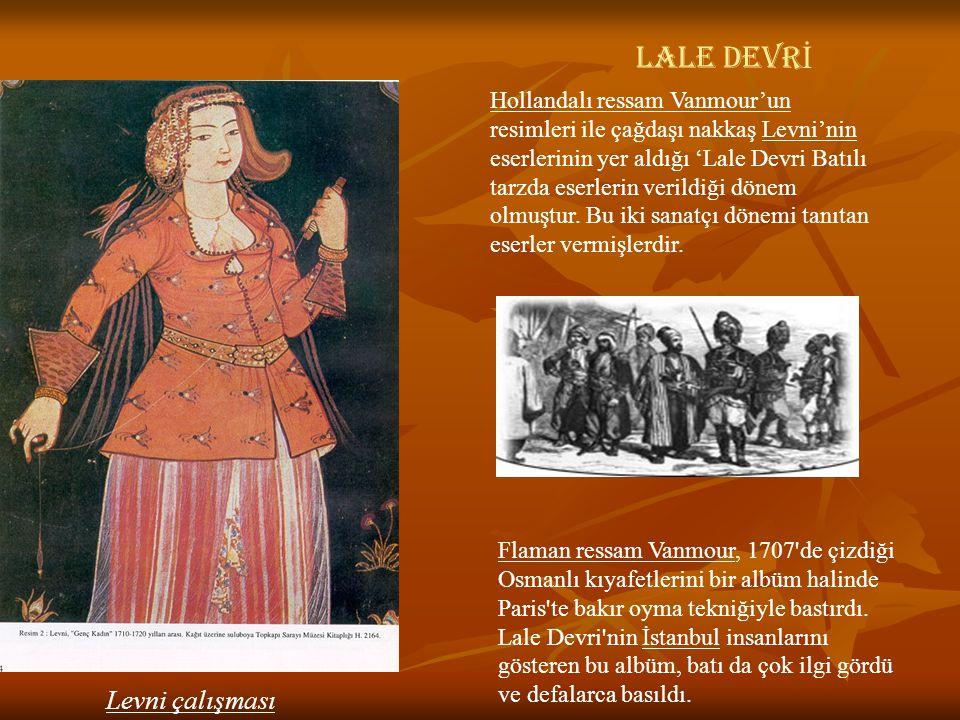 Levni çalışması LALE DEVRİ
