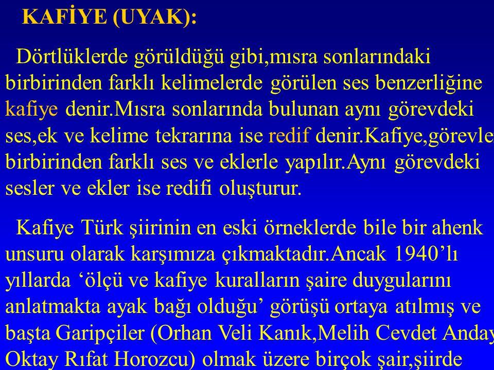 KAFİYE (UYAK):