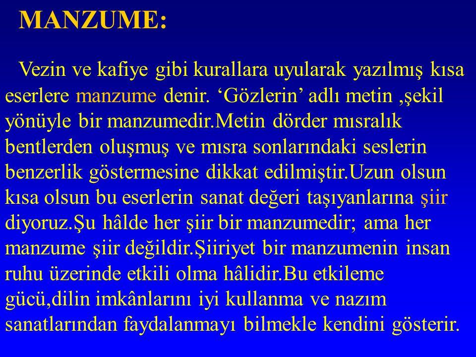 MANZUME: