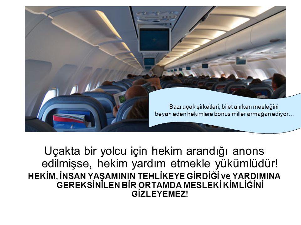 Bazı uçak şirketleri, bilet alırken mesleğini