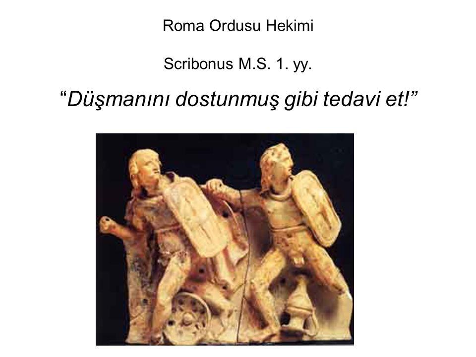 Roma Ordusu Hekimi Scribonus M.S. 1. yy.