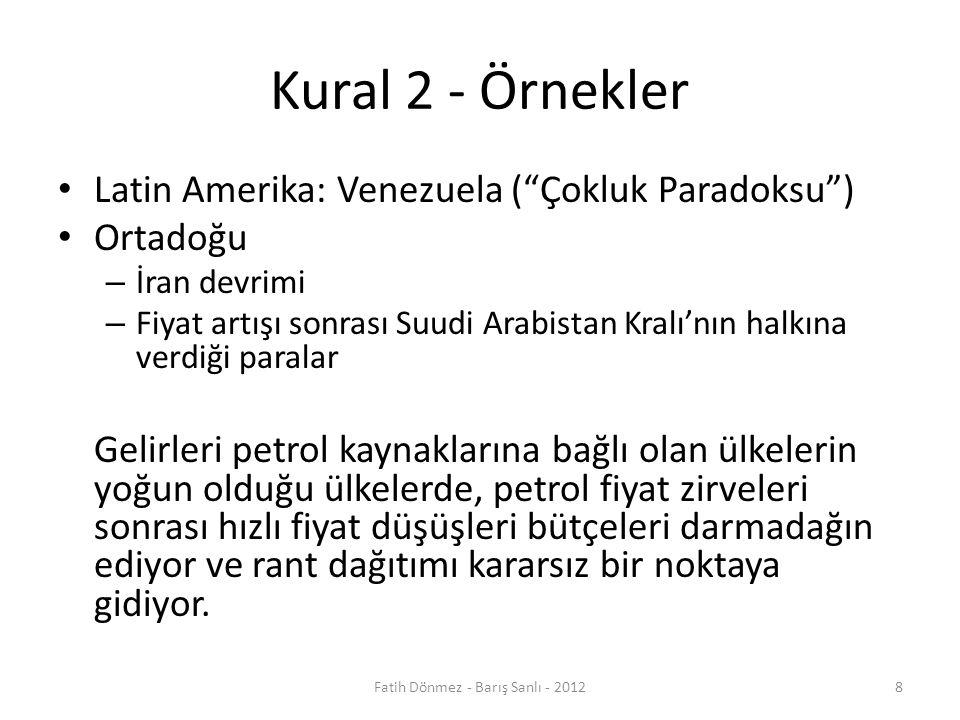 Fatih Dönmez - Barış Sanlı - 2012