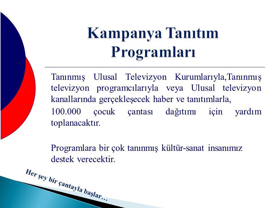 Kampanya Tanıtım Programları