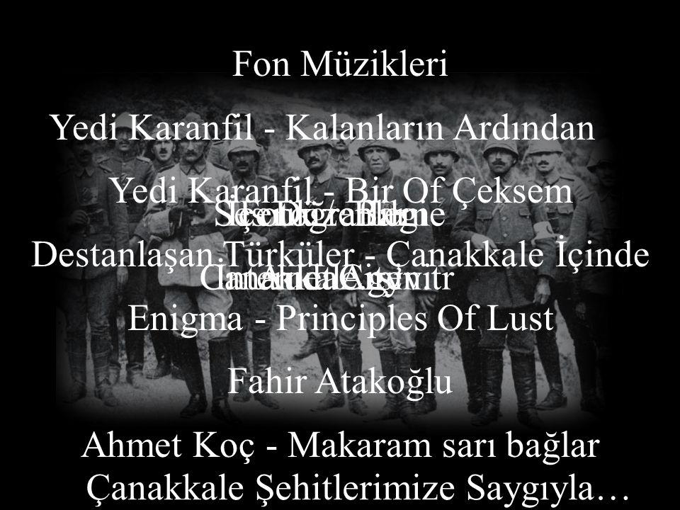 Yedi Karanfil - Kalanların Ardından Yedi Karanfil - Bir Of Çeksem