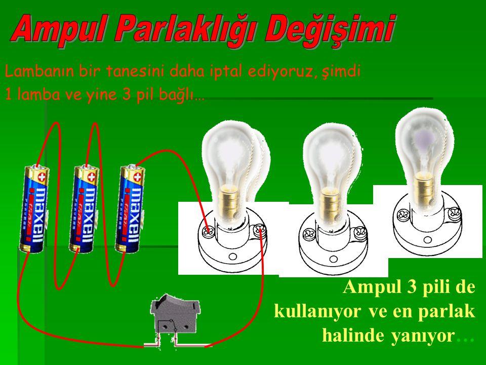 Ampul Parlaklığı Değişimi