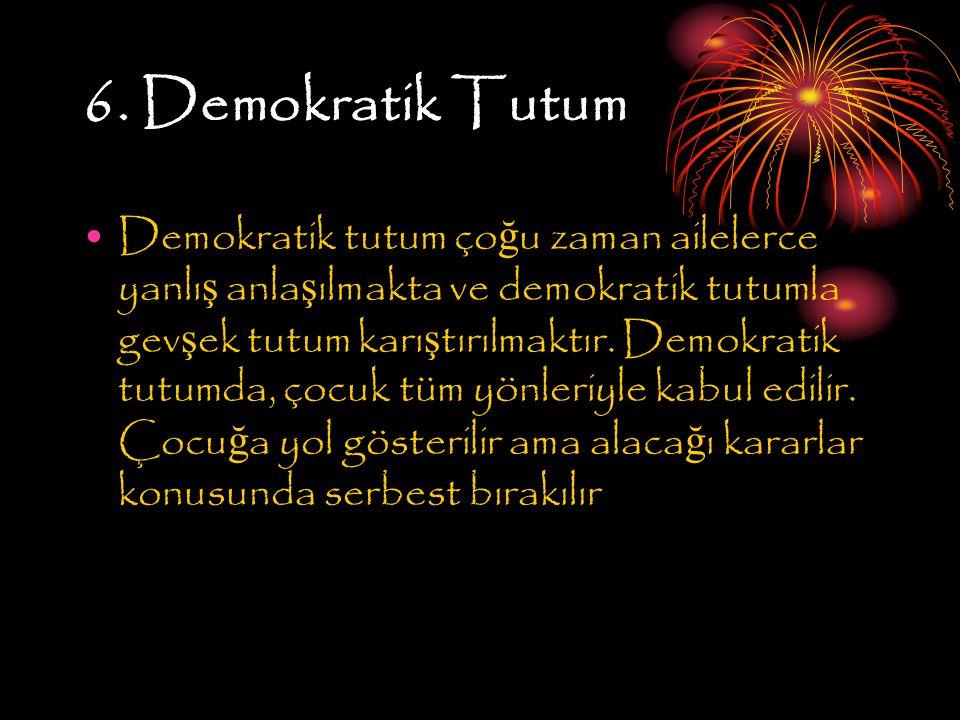 6. Demokratik Tutum