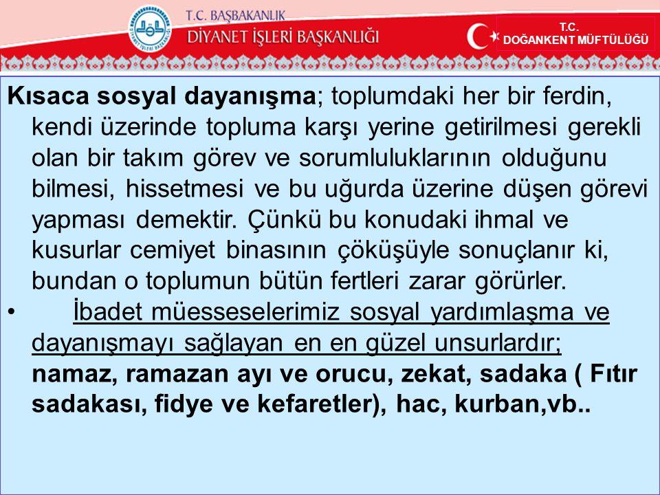 T.C. DOĞANKENT MÜFTÜLÜĞÜ