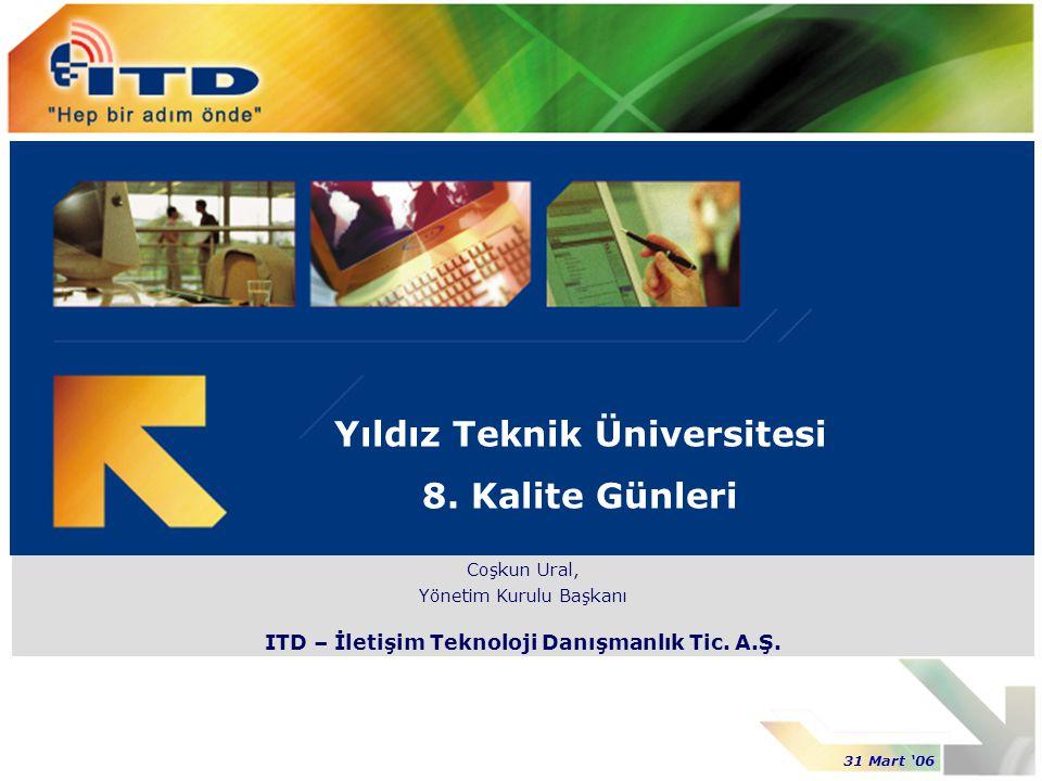 Yıldız Teknik Üniversitesi 8. Kalite Günleri