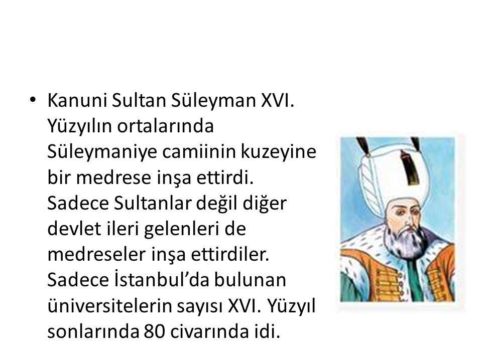 Kanuni Sultan Süleyman XVI